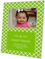 F2856-I - Chelsea Lime Personalized Picture Frame