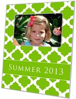 F2862 - Lime Chelsea Grande Personalized Picture Frame