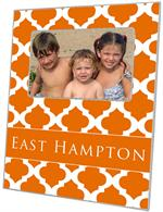 F2864 - Orange Chelsea Grande Personalized Picture Frame