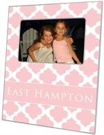 F2865 - Pink Chelsea Grande Personalized Picture Frame