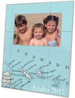 F2893 - Aruba Map Picture Frame