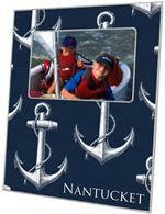 F2977-Vintage Anchor Navy Picture Frame