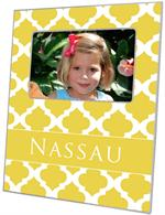 F2985 - Yellow Chelsea Grande Personalized Picture Frame