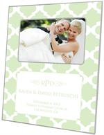 F2988-I - Mint Chelsea Grande Personalized Picture Frame