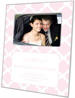 F2989-I - Light Pink Chelsea Grande Personalized Picture Frame