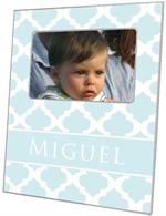 F2990 - Light Blue Chelsea Grande Personalized Picture Frame