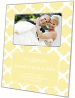F2991-I - Butter Chelsea Grande Personalized Picture Frame