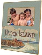 F532-Block Island Southeast Lighthouse Personalized Picture Frame