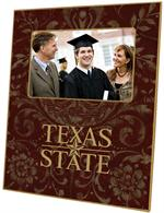 F5801-Texas State  University Picture Frame