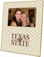 F5817-Texas State  University Picture Frame