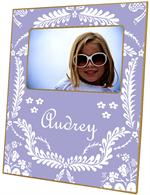 F800-Lavender Provencial Personalized Picture Frame