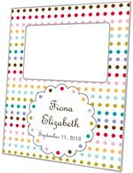 F8256-I-Colored Dots Picture Frame