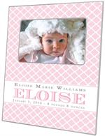 F8446 Baby Girl Gift  Personalized Picture Frame