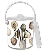 IB1403-Sand Dollars Personalized   Ice Bucket