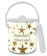 IB1416-Starfish Personalized Ice Bucket