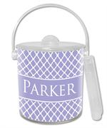 IB2854-I - Lavender Chelsea Personalized  Ice Bucket
