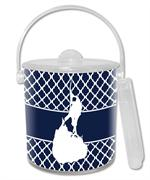 IB2857-Block Island on Chelsea Ice Bucket