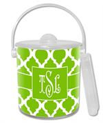 IB2862 - Lime Chelsea Grande Personalized Ice Bucket