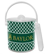 IB3113-Gold Baylor with Judge Baylor on Green Chelsea Ice Bucket