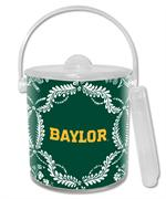 IB3115-Gold Baylor on Green Provencial Ice Bucket