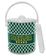 IB3117-Gold Baylor Bears on Chelsea Ice Bucket