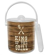 IB8272-King of the Grill Ice Bucket
