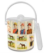 IB8589-Jockey and racing horses Ice Bucket