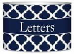 L2859 - Navy Chelsea Grande Personalized Letter Box