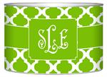 L2862 - Lime Chelsea Grande Personalized Letter Box