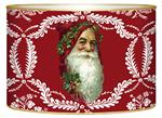 L405 - Santa Face on Red Provencial Letter Box