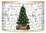 LB1255-Christmas Tree on Writing Letter Box