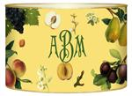 L1434 - Fruit on Yellow Letter Box