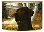 L145 - Chocolate Lab Letter Box