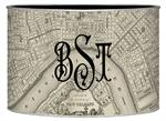 L1589 - New Orleans Antique Map Letter Box