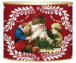 L407 - Santa and Children on Red Provencial Letter Box
