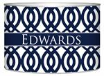 LB8025-Navy Madison Personalized Letter Box