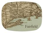 M1480-Antique Northeast Personalized  Map