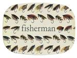 GB1879 - Fly Fishing  Personalized Glass Cutting Board