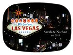 GB1882 - Las Vegas  Personalized Glass Cutting Board