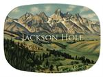 GB2761 - Jackson Hole  Personalized Glass Cutting Board