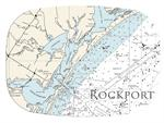 GB2897 - Rockport Texas  Personalized Glass Cutting Board