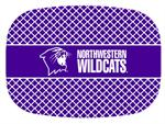 GB7115-Northwestern University Personalized Glass Cutting Board