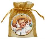O193-Easter Girl Ornament