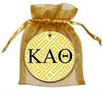 O2311- Kappa Alpha Theta Fret Ornament