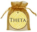 O2312- Kappa Alpha Theta Fret Ornament