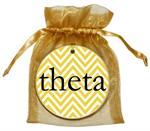 O2315-Kappa Alpha Theta Chevron Ornament