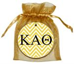 O2316-Kappa Alpha Theta Chevron Ornament