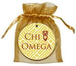 O2323 - Chi Omega Fret Ornament