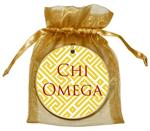 O2325 - Chi Omega Fret Ornament