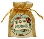 O2683 - To Dear Mother Aqua Ornament